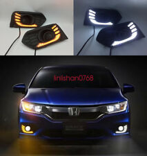 2x LED Driving Daytime Running Day Fog Lamp Light For honda city 2017 2018