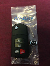 MAZDA 2 3 4 5 6 RX8 MX5 4 BUTTON CENTRAL LOCK ALARM REMOTE KEY FOB MITSUBISHI