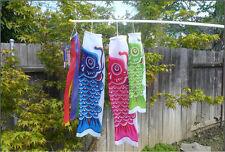 Koinobori Kite Children's Day Multi- Color Nylon Carp Streamers Windsocks