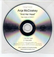 (DQ304) Anja McCloskey, And Her Head - 2011 DJ CD