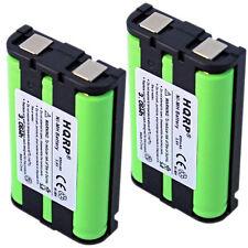 2x HQRP Phone Battery for Panasonic KX-TG4500 KX-TG5050 KX-TG5050W KX-TG5210