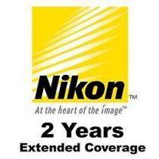 NIKON COOLPIX 2 YEAR WARRANTY FOR P3 P4 P50 P60 P80 P90 S3300 L810 L105 S4300