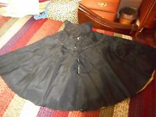 Antique Early Ladies Black Cape
