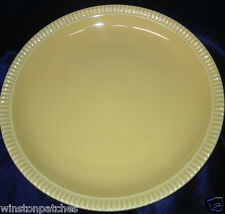 "CERIND PORCELANA PORTUGAL CEJ1 YELLOW DINNER PLATE 10 1/4"" PIE CRUST EDGE"