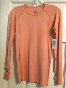 Womens Size Small Athletic Long Sleeve Shirt Top Antonio Melani New $68.00