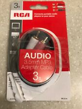 RCA audio cable 3 Feet Open Box Audio Stereo Adapter TV DVD MP 3 Connector