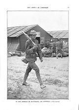 WWI Camp Américain de Saint-Nazaire Sentinelle Sammies Boys  B ILLUSTRATION