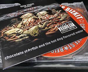 Limp Bizkit Chocolate Starfish SIGNED CD Fred Durst 2000 Autograph Rap Metal God