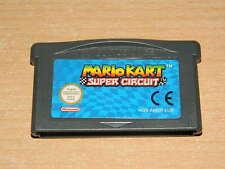 Nintendo GAMEBOY ADVANCE-MARIO KART-Deutsches ORIGINALE-SOLO MODULO-Top