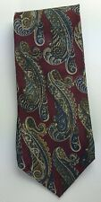 Sterling & Hunt Premier Edition Mens Necktie Paisley Silk Tie Made in USA