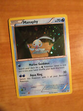 NM Pokemon MANAPHY Card BLACK STAR PROMO Set XY190 Magearna Mythical Collection