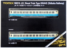 Tomix 98016 JR Diesel Train Type KIHA 45 (Shikoku Railway) 2 Cars Set (N scale)