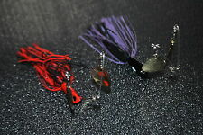 2 X Spinnerbait Twin Arm 1/2 oz Lure Cod or Yellow belly (Spinnerbait)