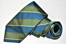 Men's Ben Silver Charleston Green    Silk Neck Tie
