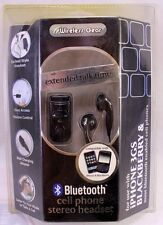 Wireless Gear Bluetooth Cell Phone Stereo Headset Earbuds NEW