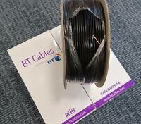 1-200m BT Internal External Telephone Cable CAT5e 2 Pair CW1724 100% PureCopper