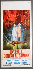 FBI Contro Al Capone locandina poster Wynn Stack Brand The Scarface Mob A