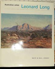 Leonard Long - Australian Artist, signed