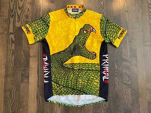 Men's PRIMAL WEAR Snake Bite 3/4 Zip Cycling Jersey Size Medium M