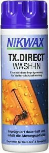 Nikwax TX Direct Wash In Waterproofer Wet Weather Clothing Outdoor Apparel Gear