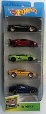 Hot Wheels 2019 HW EXOTICS 5 Pack  Pagani, Lamborghini Sesto Lotus Aston Martin