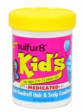 Sulfur8 Kid's Medicated Anti-Dandruff Hair - Scalp Conditioner, 4 oz