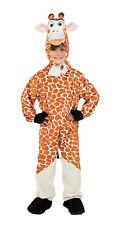 Per Bambini Giraffa Animale Costume Bambini Ragazzi Ragazze Bambino Altezza 128cm