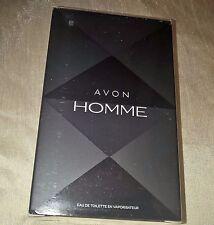 AVON HOMME EAU DE TOILETTE SPRAY ~ EDT ~ AFTERSHAVE ~ 75ml ~ NEW