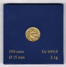 FRANCE MONNAIE OR 999,9 ‰ 100 EURO SEMEUSE 2009 BE 3,10 grammes A4156