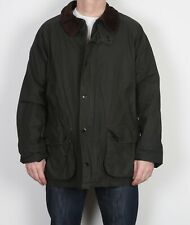 "Wax Jacket Coat Large 42"" 44"" Green (4AL)"