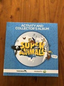 WOOLWORTHS SUPER ANIMALS  - Activity + Collector's Album