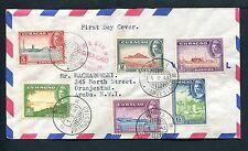 Curacao Voorloper FDC V23 _ ? M (nieuw), met adres ;