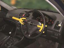 Double Hook Car Van Anti Theft Deterrent Security Steering Wheel Lock Clamp