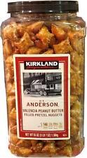 Kirkland Signature Peanut Butter Pretzel Snacks Lunch Tea Time Picnic