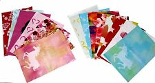 450 Designer Poly Mailers 10x13 Yellow Red Pink Blue Green Shipping Envelopes
