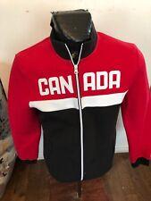 MENS Medium HBC Zip Front Warm Up Jacket Team Canada Olympics