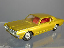 MATCHBOX SUPER KING  MODEL No.K-21   MERCURY COUGAR CAR  WITH RARE RED INTERIOR