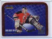 MARTIN BRODEUR Devils 1995/96 Donruss #5 Between The Pipes Die-Cut Insert Card