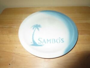 "Vintage Sambo's Restaurant 8 1/2"" China Dinner Plate Jackson China Falls Creek"