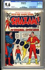SHAZAM #1  CGC 9.6 WP NM+  DC Comics 1973  1st Captain Marvel since Golden Age