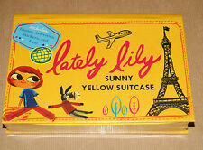 Lately Lily - Sunny Yellow Suitcase (travel activity set)