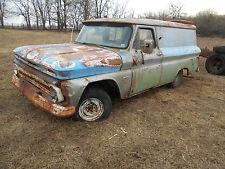 1964 Chevrolet Panel Delivery Truck Shop Sign Garage Hauler Pickup Rat Rod LOOK