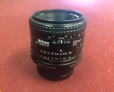 Nikon AF FX NIKKOR 50mm f/1.8 Lens