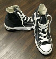 Converse All Star Chuck Taylors Hi Top Shoes Size 5 Mens 7 Womens Unisex Black