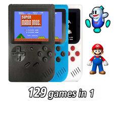 CONSOLE PORTATILE 8 BIT 129 GIOCHI VIDEOGIOCO DISPLAY LCD VIDEO GAME BOY GIRL