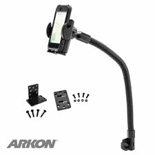 "SM488L22: Arkon Mega Grip Seat Rail or Floor Phone Car Holder Mount with 22"" Arm"