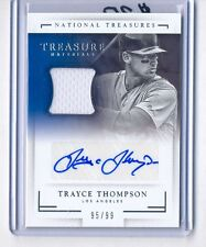 Trayce Thompson 2016 National Treasures Jersey Auto Rookie Rc #95/99 Dodgers