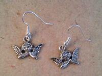 Ohrringe Engel, silbern *Neu* ,Ohrhaken aus Chirurgenstahl versilbert