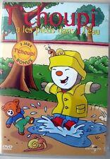 DVD T'choupi - T'choupi a les pieds dans l'eau - 10 épisodes - 1h environ
