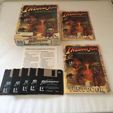INDIANA JONES AND THE FATE OF ATLANTIS with Instructions IBM 3.5 - 1992
